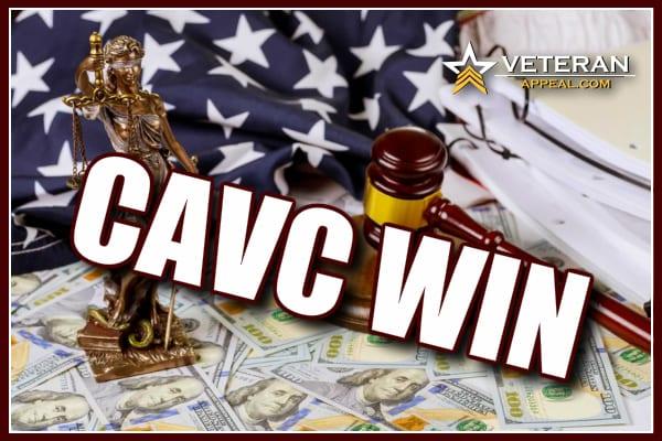 CAVC Win