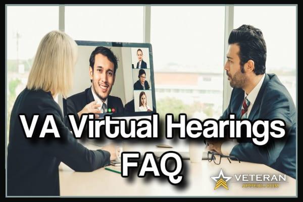 VA Virtual Hearings FAQ