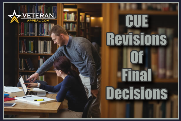 CUE Revisions Of Final Decisions
