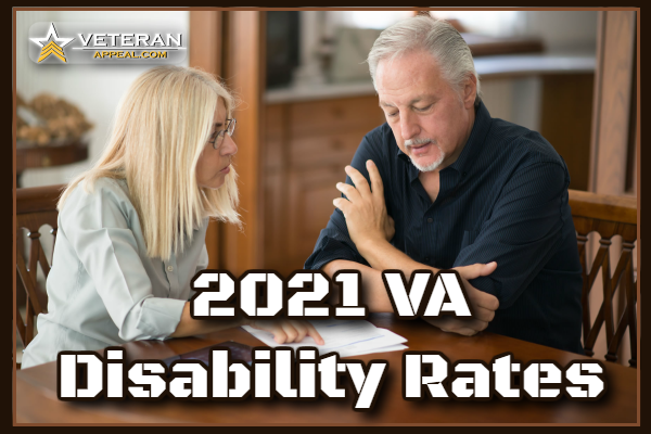 2021 VA Disability Rates